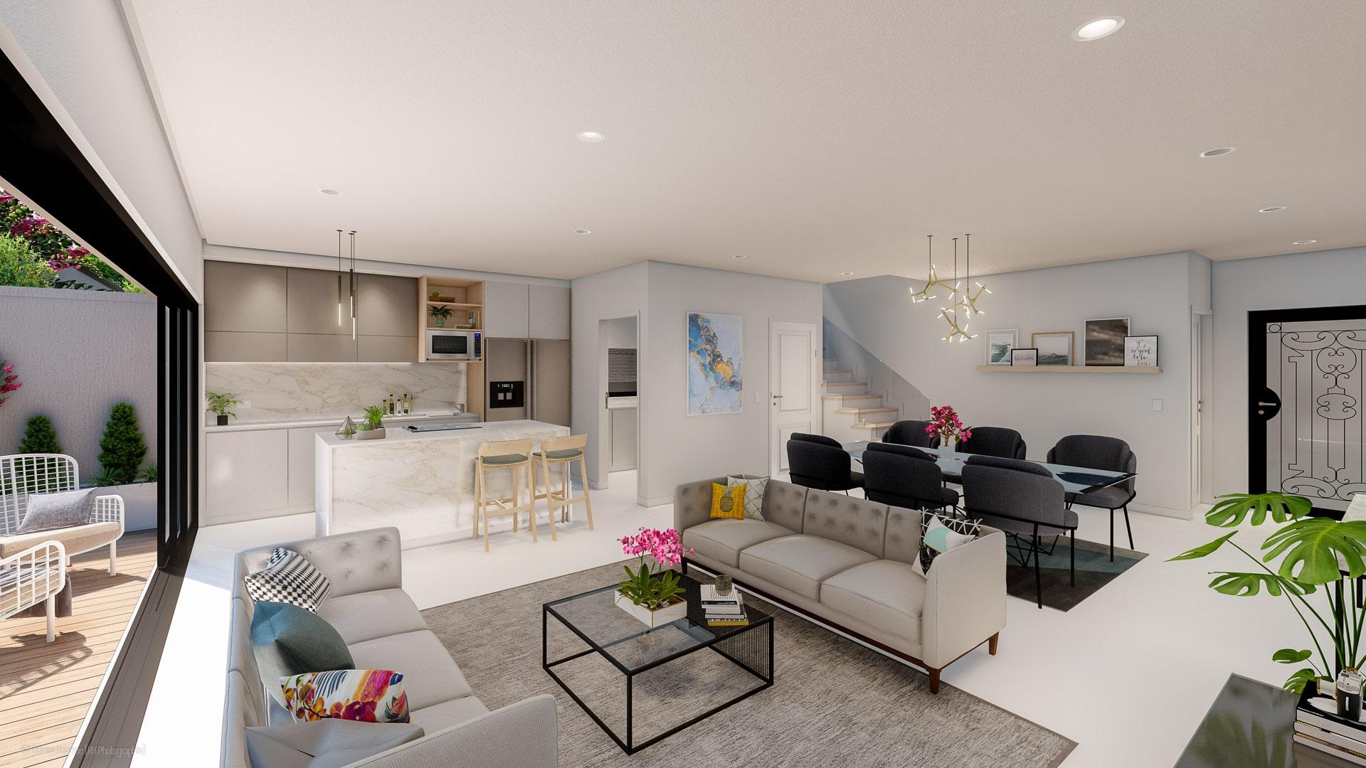 Cluster Home Interior