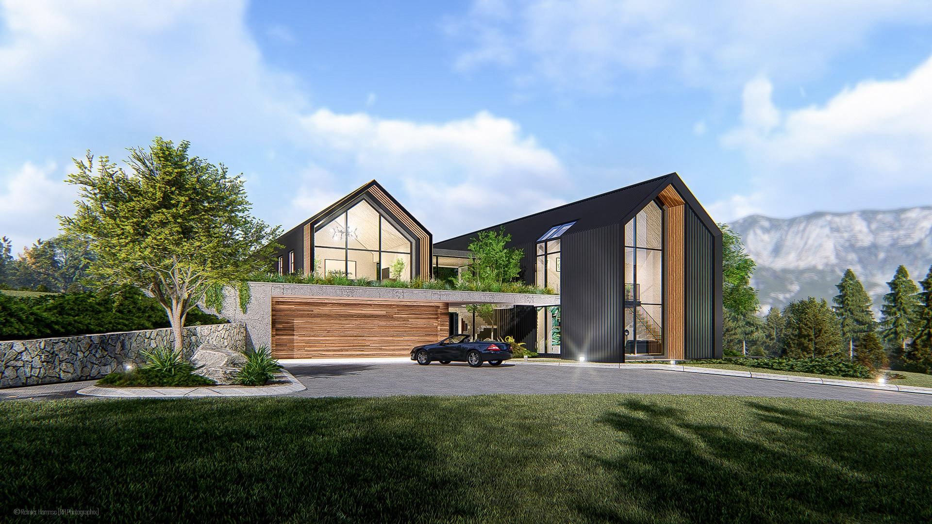 Contemporary Shed House