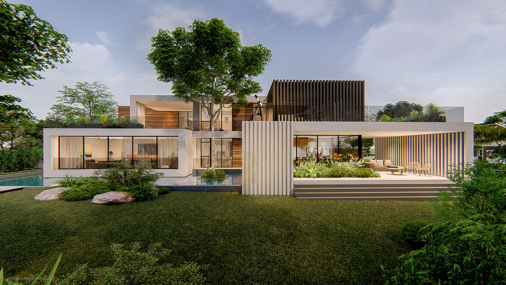 Contemporary House Ontw III